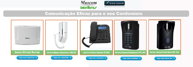 Foto 1 - Conserto de Interfones Maxcom Digital